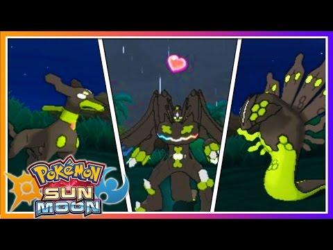 Pokémon Sun & Moon: HOW TO CHANGE ZYGARDE'S FORMS!