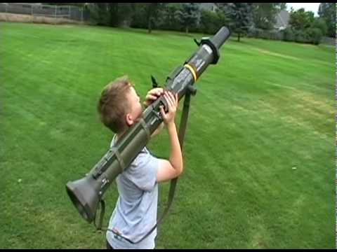 airsoft / paintball AT4 / m136 rocket launcher