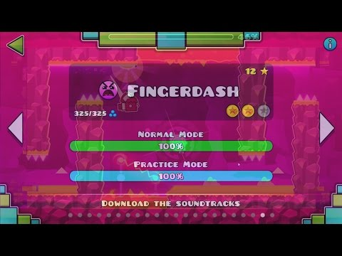 ✮ GEOMETRY DASH 2.1: FINGERDASH | Level 21| ✮