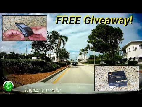 Ultra Compact HD Windshield Camera Giveaway!
