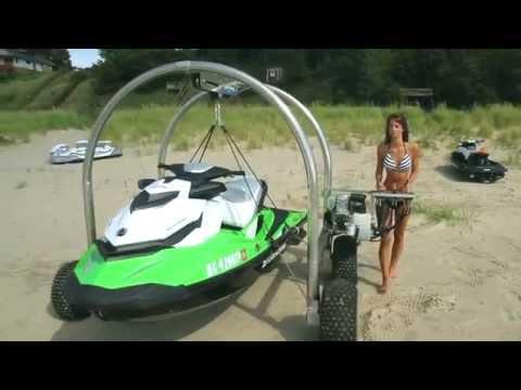 Beach Rover - The Best Alternative to the Jet Ski Beach Dolly