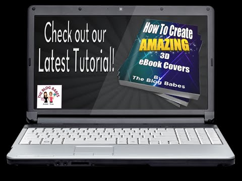 The Blog Babes - How To Create a Book Cover Online