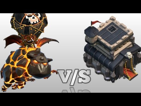Satisfactory Lavaloon Attack | TH9 Strategy | Clash Of Clans | #clasherdostsayan |