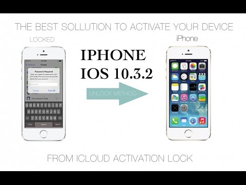 Remove icloud for activated IOS 10.3.2 100% working