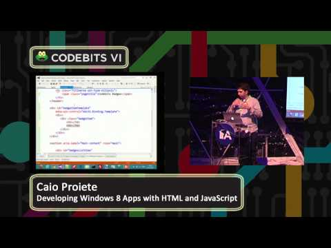 Developing Windows 8 Apps with HTML and JavaScript - Codebits 2012