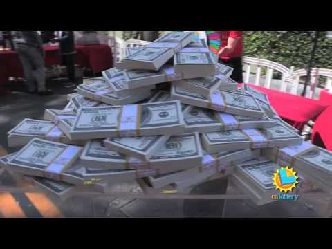 Cameras Capture Excitement of POWERBALL in California! - California Lottery