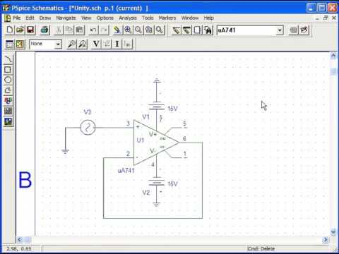 how to simulate circuit using pspice