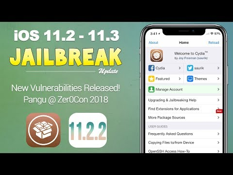 iOS 11.2 - 11.3 Jailbreak Update: New Vulnerabilities Released, Pangu, Electra | JBU 51