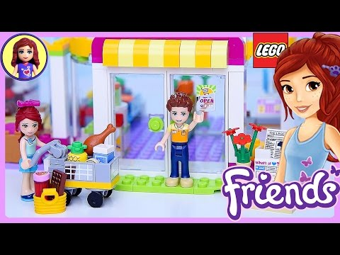 Lego Friends Heartlake Supermarket Set Build Review Play - Kids Toys