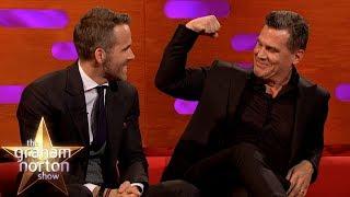 Ryan Reynolds & Josh Brolin Talk Deadpool 2, Avengers & Goonies   The Graham Norton Show