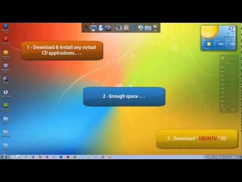 How to install UBUNTU with Windows ( Easiest way