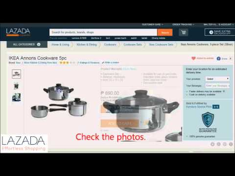 How to Buy in Lazada Philippines