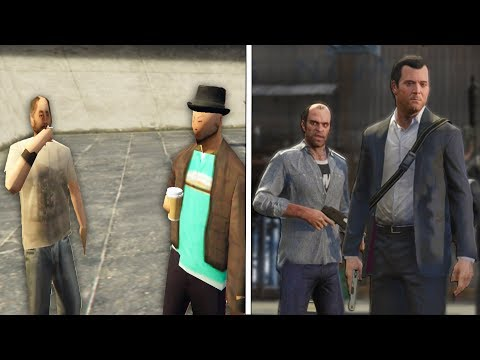 This was the beta of GTA V