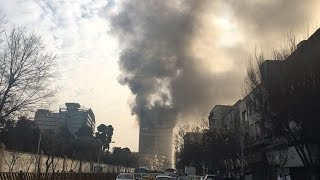 """Report of fire and crumbling of """" Plasco """" building in Tehran"""