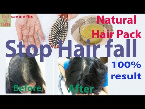 Hair Fall Control Tips-How to Stop Hair Fall With Natural Remedies-100%Effective Tips