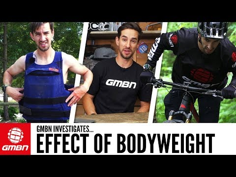 How Much Does Weight Effect Mountain Biking?