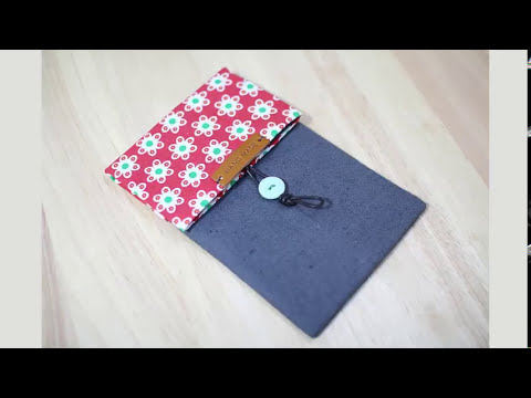Shine Sewing Tutorial Double Pocket Pencil Case
