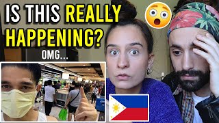 PANIC buying in MANILA - PANDEMIC Philippines Reaction
