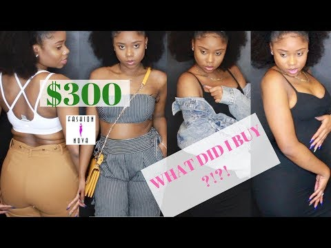$300 ON FASHION NOVA! WHAT DID I BUY ?! || Fashion Nova Try-On Haul - Slim Thick || Chev B