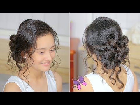 Romantic Bridal Hairstyle | Wedding Hairstyle | Hairstyle for Bride