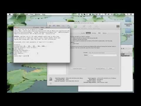 How to Create a Bootable MAC OS X Mavericks USB Flash Drive