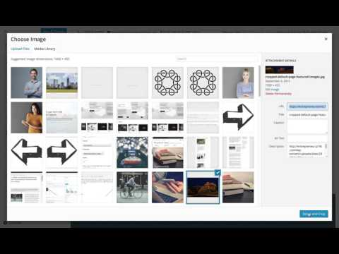 Entrepreneur WordPress Theme: Setting a Custom Header Image (Step 5)
