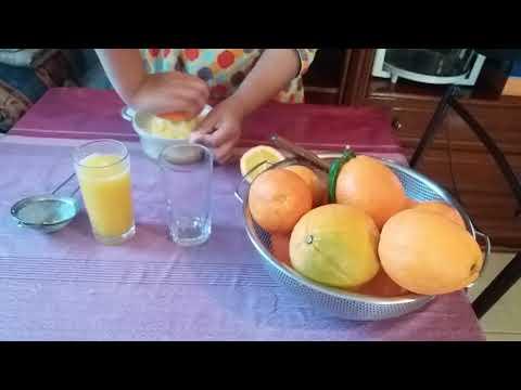 How to Orange Juice is Make