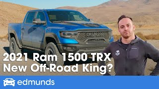 2021 Ram TRX Review — Off-Road in the Supercharged Ram 1500! Price, Release Date, HP & More