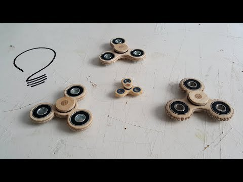 Making a Fidget Spinner on the Scroll Saw