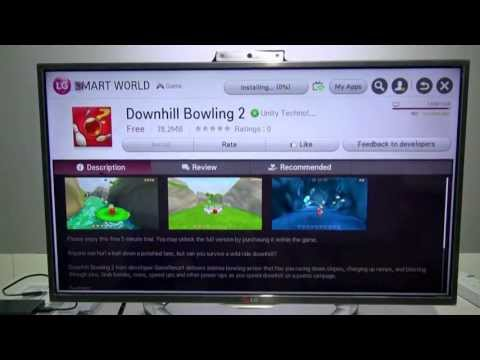 How to install smart TV application in external drive