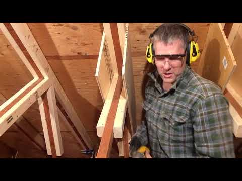 Attic Truss Repair #09: Second (backside) plywood gusset plate