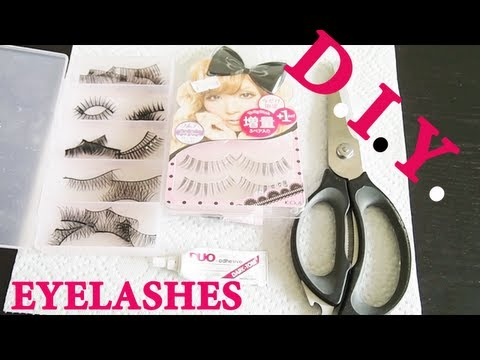 DIY: How to Combine/ Make Your Own Eyelashes