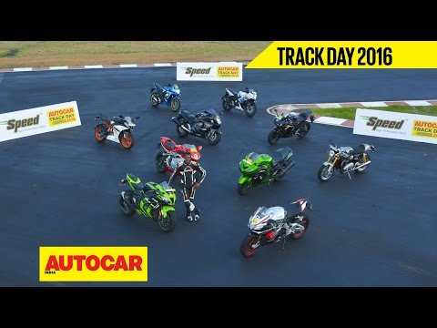 Trackday 2016 | Part 02 | India's Best Track Bike with Rajini Krishnan | Autocar India
