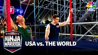 Mount Midoriyama Showdown - American Ninja Warrior: USA vs. The World