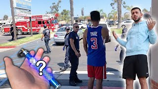 WE CALLED THE COPS ON RANDOM STRANGERS! *Dangerous Situation*