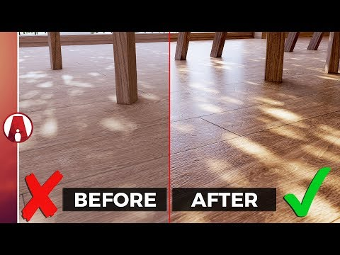 REALISTIC Wood Materials Tips and Tricks | Enscape for