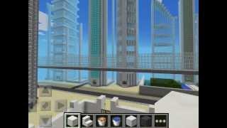 Minecraft PE!MY city NO hack NO seeds!!! Creative mod