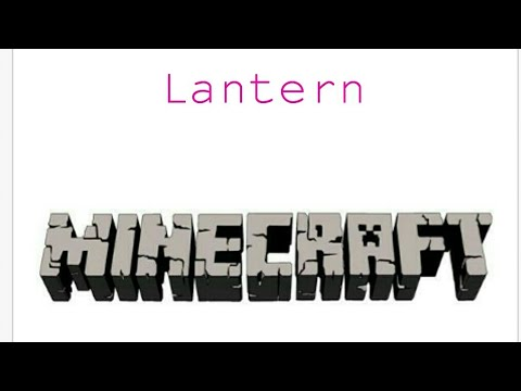 How to make a Lantern in Minecraft