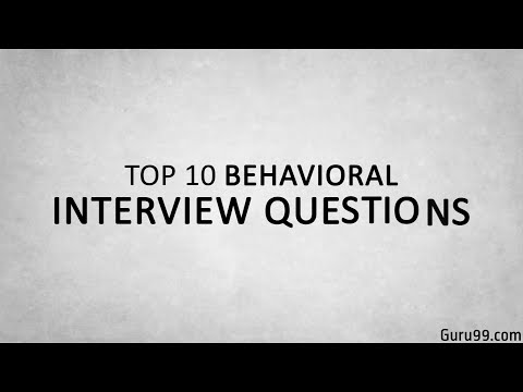 Top 10 Behavioral Interview Questions and Answers