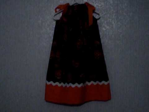 Boutique Halloween Bellknobs and Broomsticks Pillowcase Dress (Michelle's Handmade Boutique)