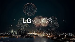 2014 LG Smart TV with webOS