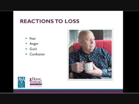 Helping Seniors with Loss of Independence  - Professional Caregiver Webinar