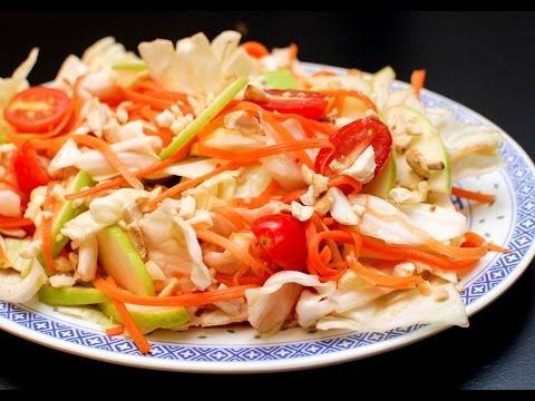 Recipe of Spicy Cabbage Salad With Fish Sauce Dressing