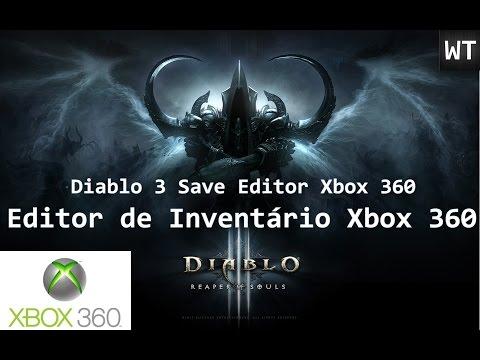 Como usar o Editor de Inventário para o Diablo 3 Xbox 360
