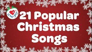 Top 21 Popular Christmas Songs and Carols Playlist 🎅