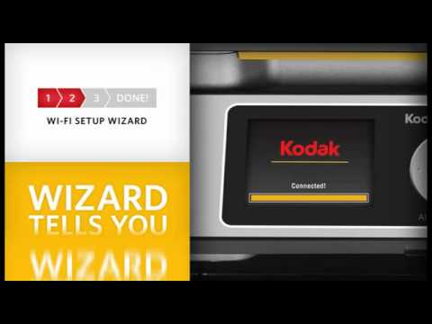 Easy WiFi Setup on Kodak ESP Printers