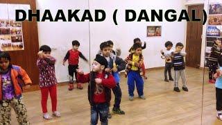 Dhaakad - Dangal   Aamir Khan   kids dance Choreography   DEEPAK TULSYAN