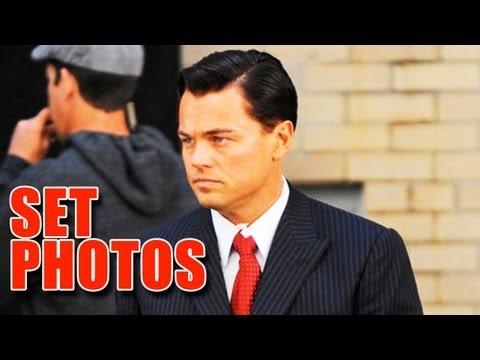 The Wolf of Wall Street Set Photos (2013) - Leonardo DiCaprio, Margot Robbie