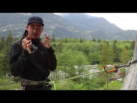 Multi pitch Trad Climbing