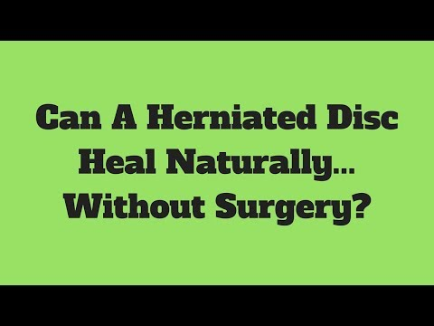 Can A Herniated Disc Heal Naturally... Without Surgery? | Philadelphia, PA | Limerick, PA